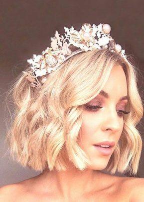 Bride with tiara